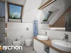 projekt Dom w malinówkach 3 Wizualizacja łazienki (wizualizacja 3 widok 3)