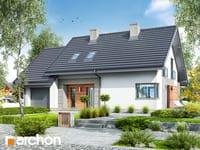 projekt Dom w malinówkach 3 widok 1