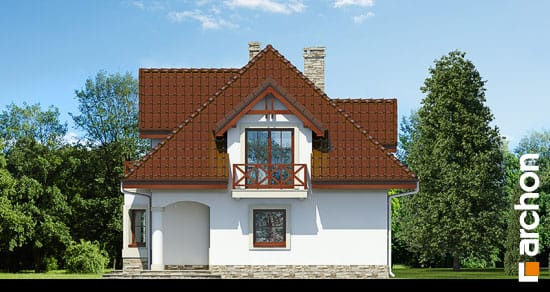 Elewacja boczna projekt dom w majeranku ver 2  265