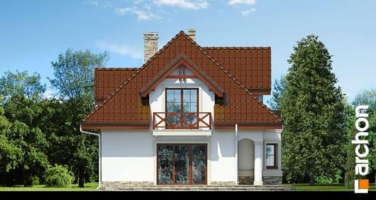Elewacja boczna projekt dom w majeranku ver 2  266