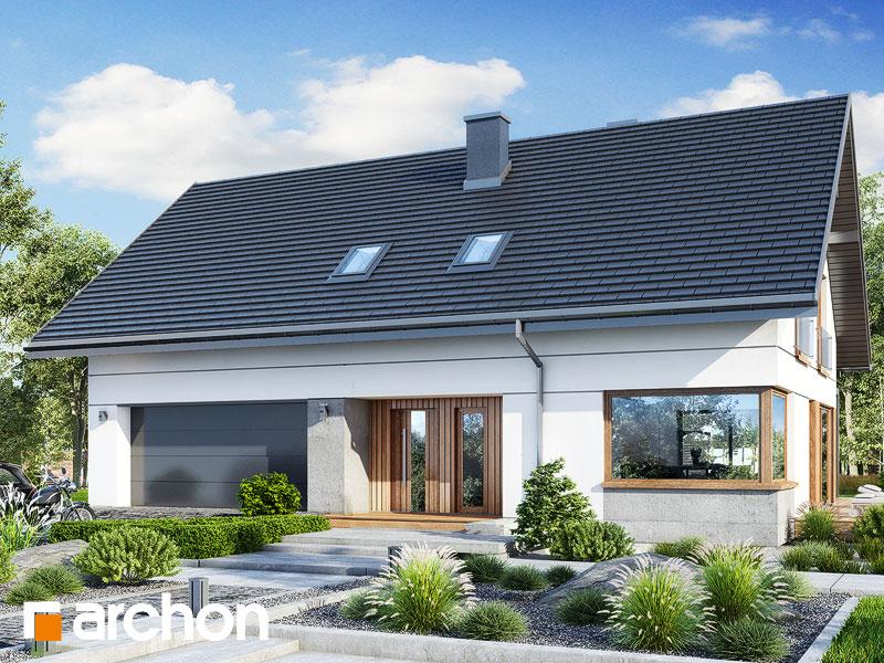 gotowy projekt Dom w idaredach 11 (G2) widok 1