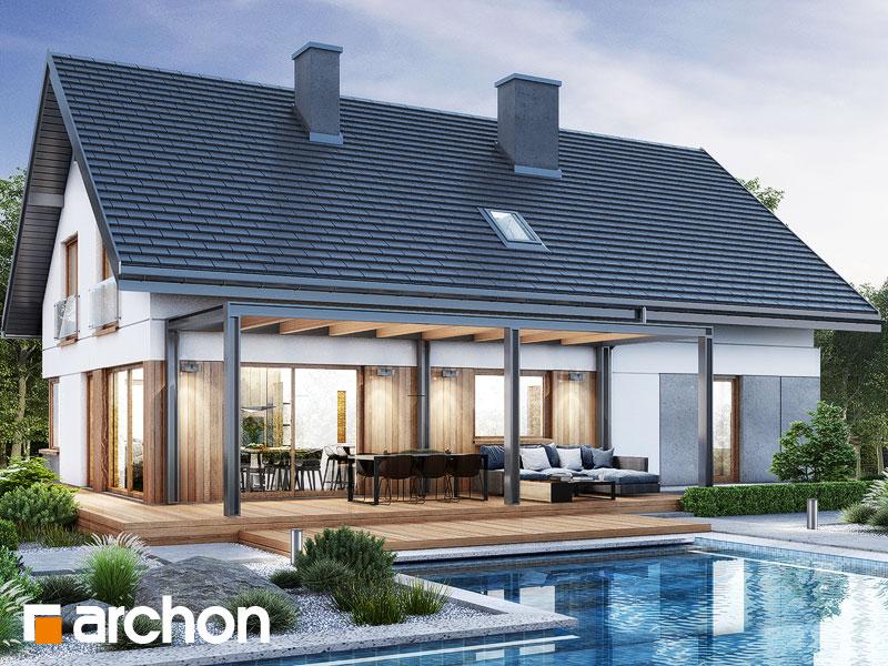 gotowy projekt Dom w idaredach 11 (G2) widok 2