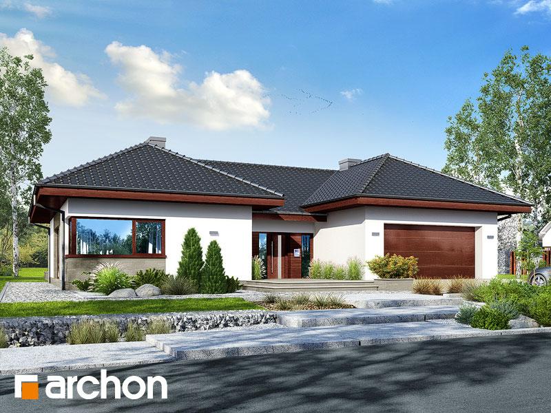 gotowy projekt Dom w kliwiach 3 (G2) widok 1
