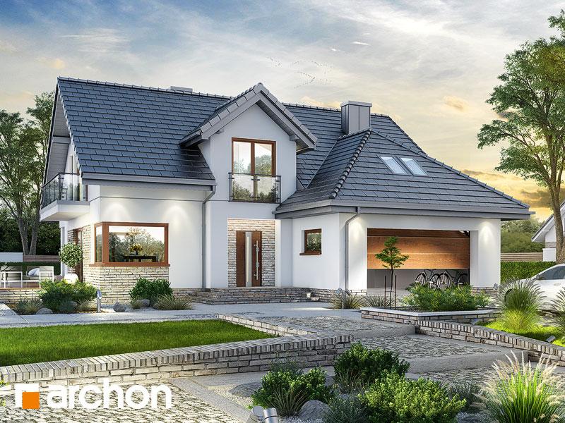 gotowy projekt Dom w kortlandach 2 (G2) widok 1