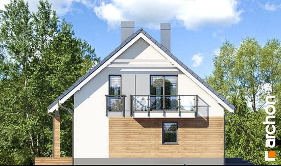 Elewacja boczna projekt dom w jablonkach 4 p  266