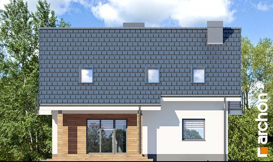 Elewacja ogrodowa projekt dom w jablonkach 4 p  267