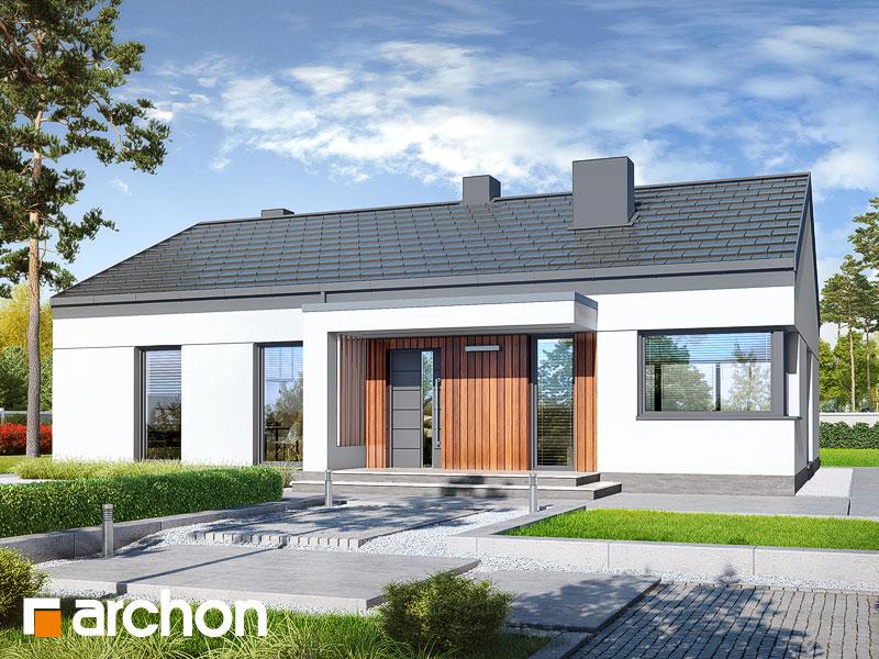 gotowy projekt Dom w lulo widok 1