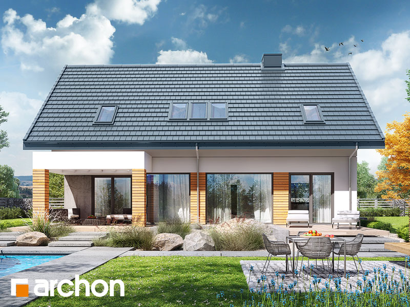 gotowy projekt Dom w santini (G2) widok 1