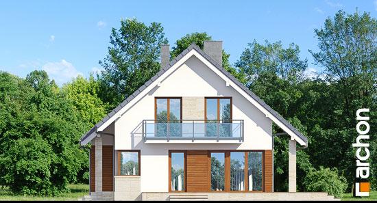 Elewacja boczna projekt dom w idaredach ver 2  265