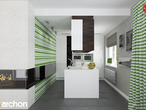 projekt Dom w idaredach Aranżacja kuchni 2 widok 1