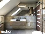 projekt Dom w idaredach Wizualizacja łazienki (wizualizacja 1 widok 2)