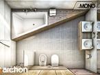 projekt Dom w idaredach Wizualizacja łazienki (wizualizacja 1 widok 5)