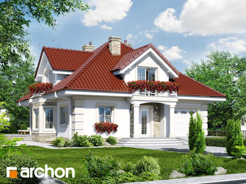 projekt Dom w tymianku 3 (P) widok 1