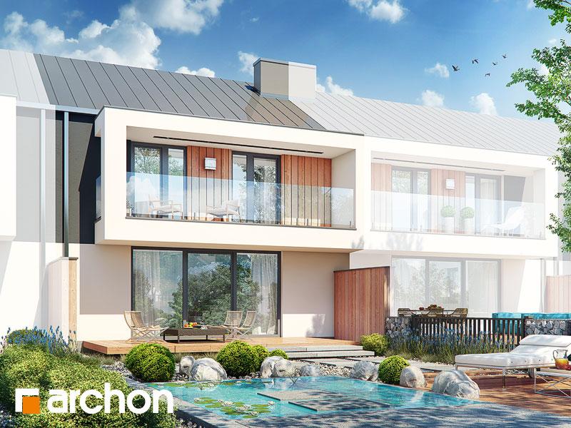 gotowy projekt Dom w klematisach 28 (S) widok 2