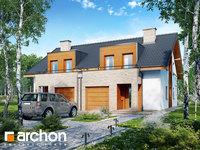 Widok 1 projekt blizniak w jednej dokumentacji dom w klematisach 18 b ver 2 1575373400  259