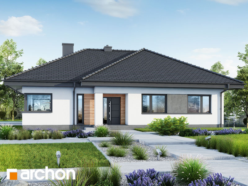 gotowy projekt Dom w santolinach 6 widok 1