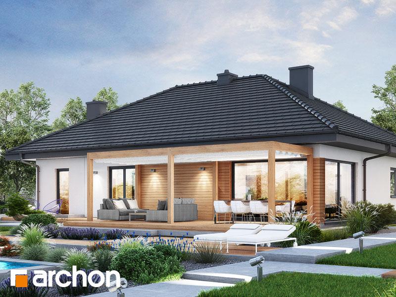 gotowy projekt Dom w santolinach 6 widok 2
