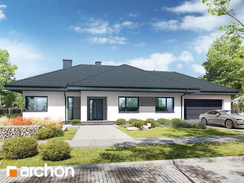 gotowy projekt Dom w santolinach 4 (G2) widok 1
