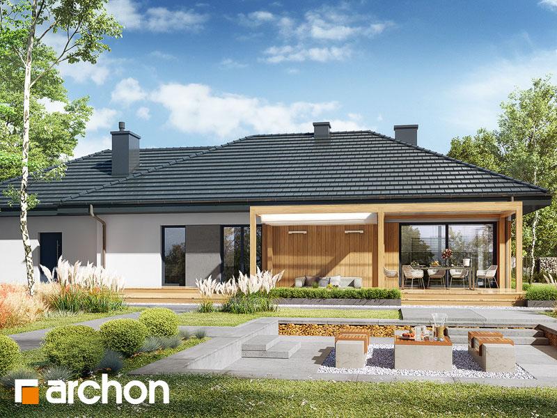 gotowy projekt Dom w santolinach 4 (G2) widok 2