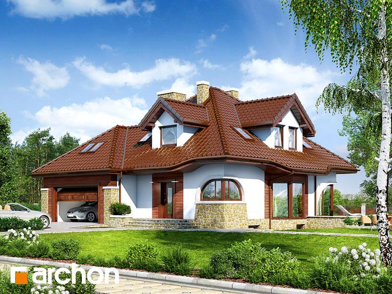 projekt Dom w zefirantach (G2P) widok 1