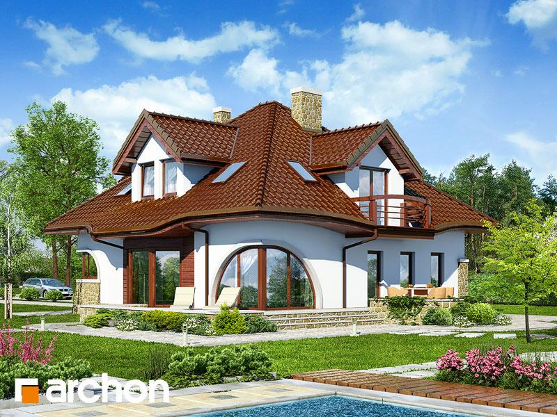 gotowy projekt Dom w zefirantach (G2P) widok 2