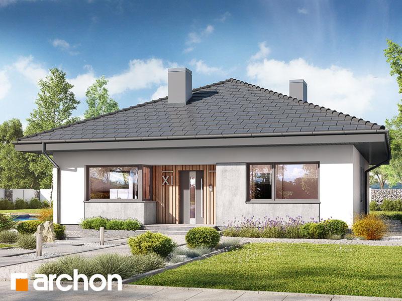 gotowy projekt Dom w cieszyniankach 6 widok 1