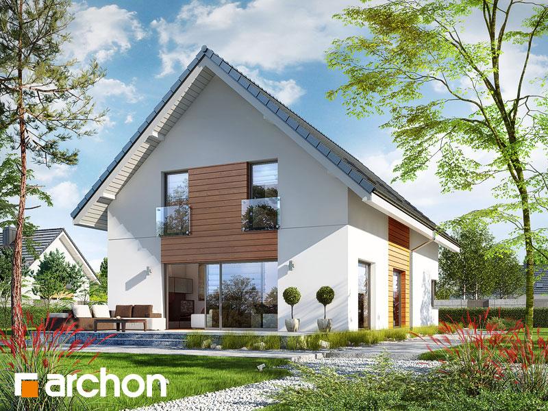 gotowy projekt Dom w amburanach 2 widok 1
