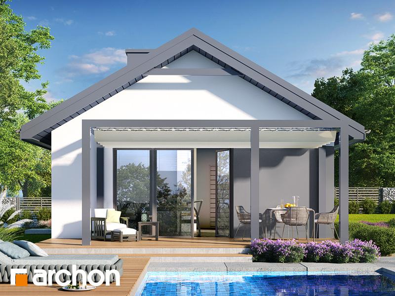 gotowy projekt Dom w kruszczykach 7 widok 2