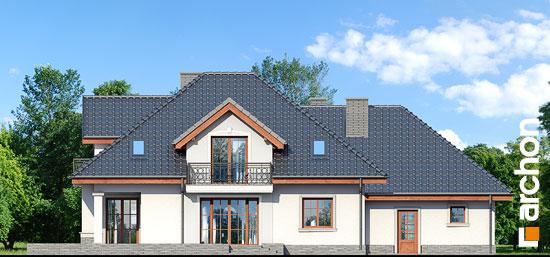 Elewacja ogrodowa projekt dom w kaliach 3 g2p  267