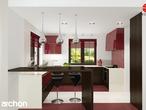 projekt Dom w kaliach 3 (G2P) Wizualizacja kuchni 2 widok 2