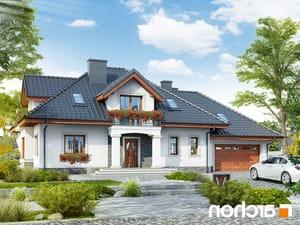 projekt Dom w kaliach 3 (G2P) lustrzane odbicie 1