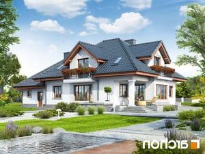projekt Dom w kaliach 3 (G2P) lustrzane odbicie 2