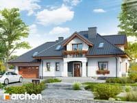 projekt Dom w kaliach 3 (G2P) widok 1