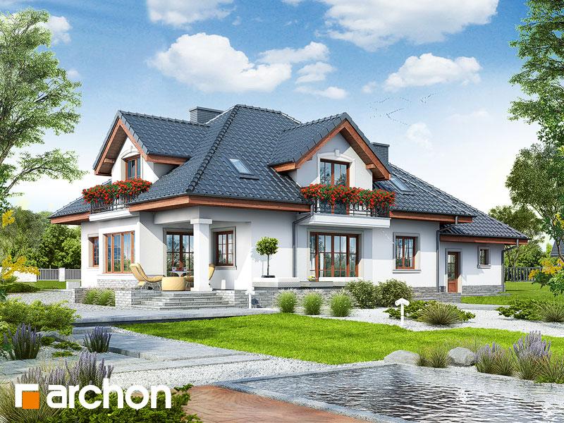 gotowy projekt Dom w kaliach 3 (G2P) widok 1