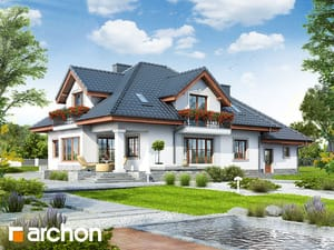 projekt Dom w kaliach 3 (G2P) widok 2