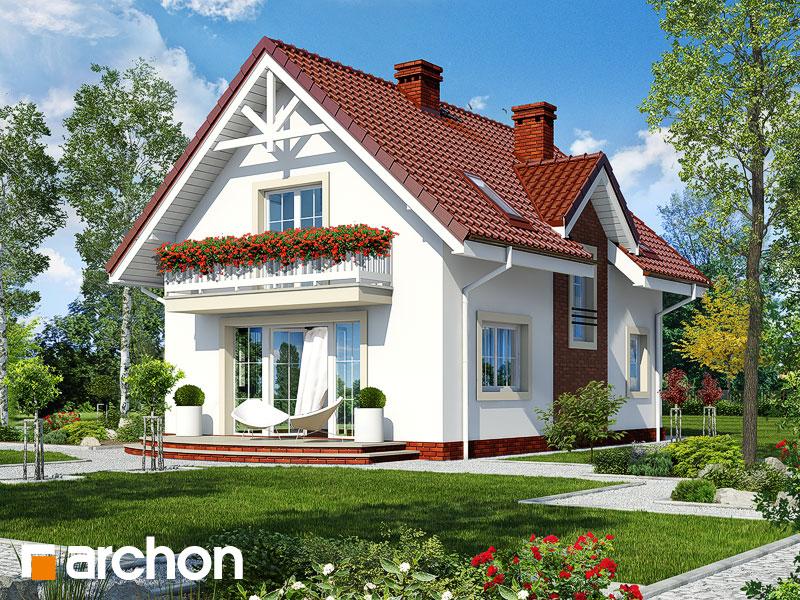 gotowy projekt Dom w kolendrze 2 (G) widok 1