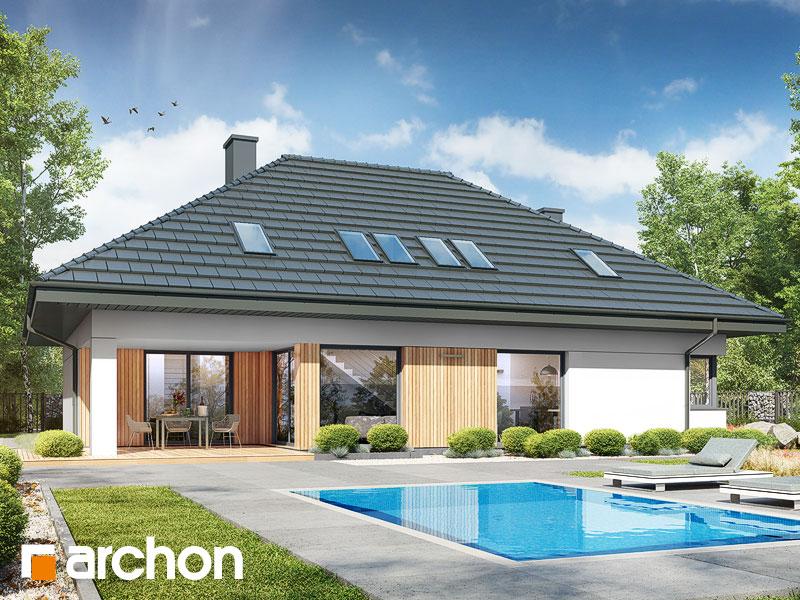 gotowy projekt Dom w cieszyniankach 9 (G) widok 1