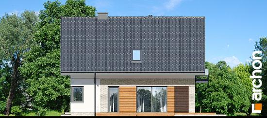 Elewacja boczna projekt dom w orliczkach g2p  266