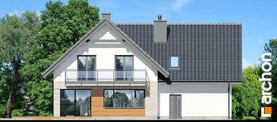 Elewacja ogrodowa projekt dom w orliczkach g2p  267