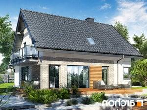 projekt Dom w orliczkach (G2P) lustrzane odbicie 2