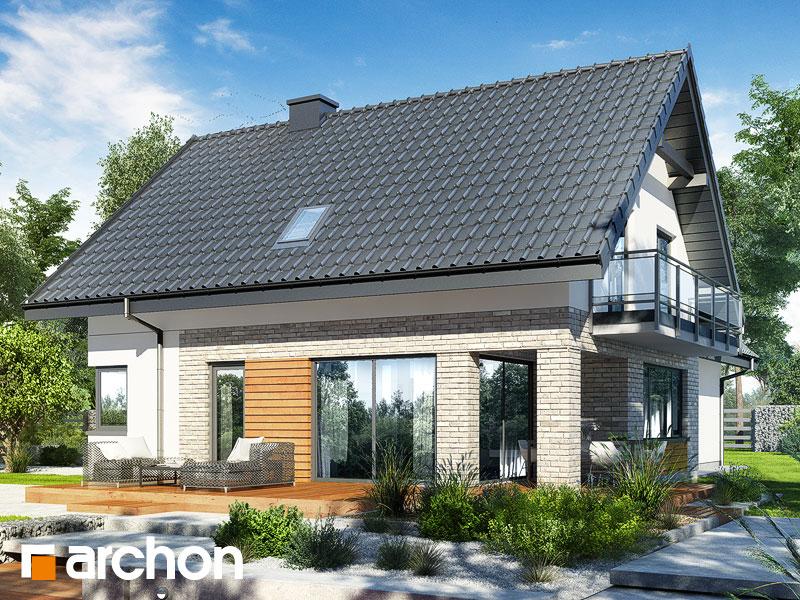 gotowy projekt Dom w orliczkach (G2P) widok 2