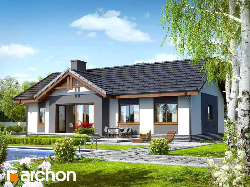 Projekt domu dom w nerinach archon - Casas modulares sevilla ...