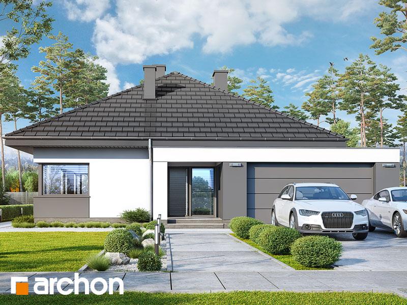 gotowy projekt Dom w cieszyniankach 4 (G2) widok 1