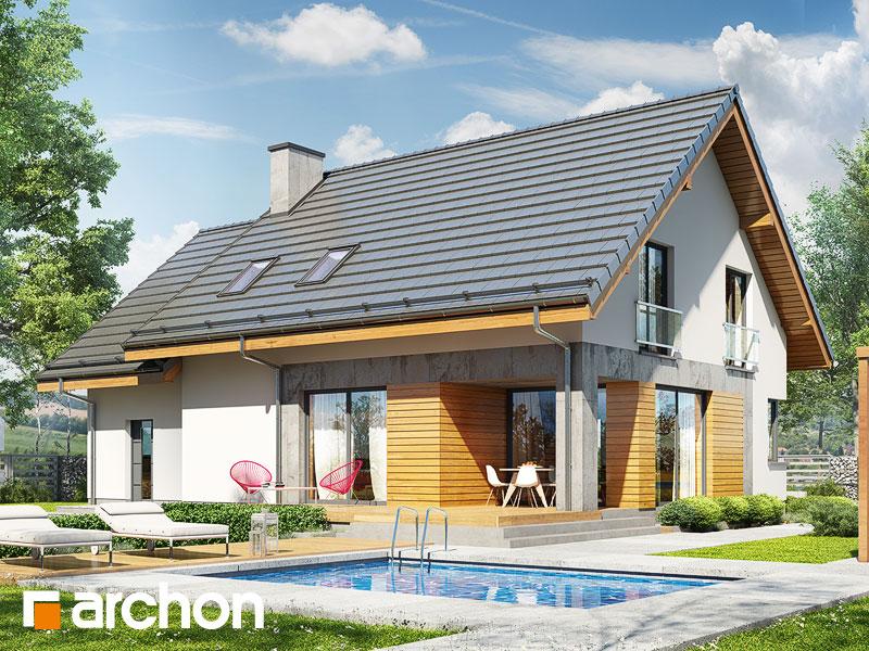 gotowy projekt Dom w srebrzykach 4 widok 1