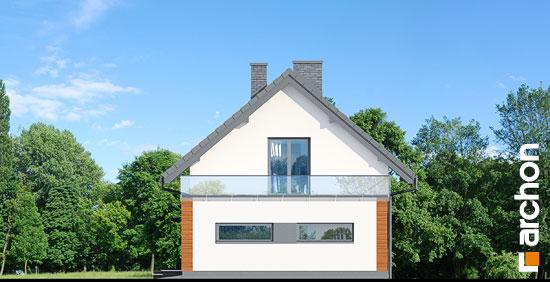 Elewacja boczna projekt dom w kroplikach  265