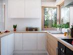 projekt Dom w kroplikach Wizualizacja kuchni 1 widok 1