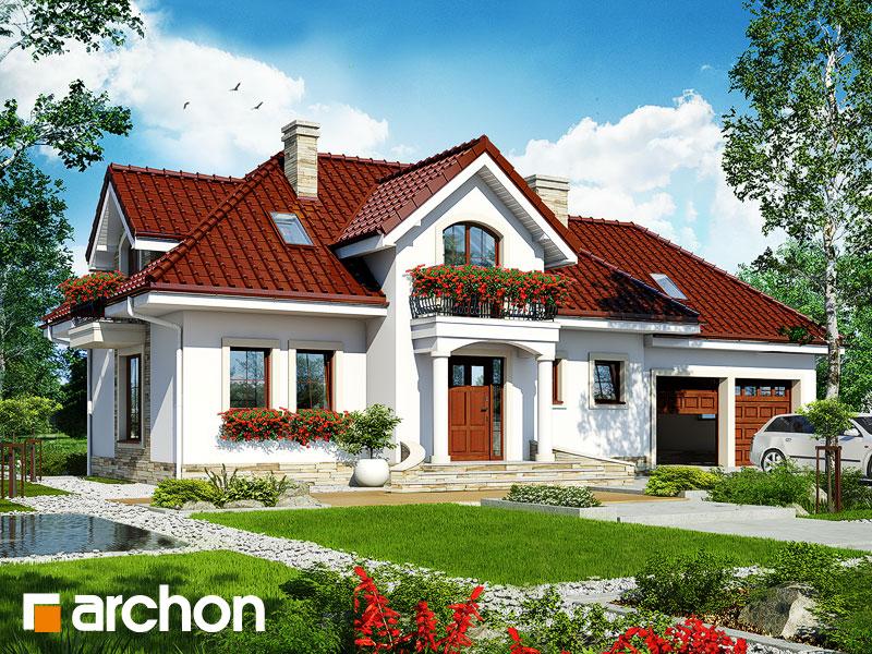 gotowy projekt Dom w lawendzie 3 (G2) widok 1