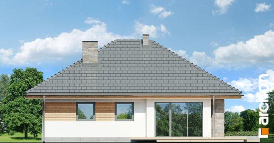 Elewacja boczna projekt dom w lilakach ver 2  266