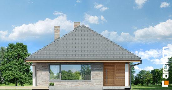 Elewacja frontowa projekt dom w lilakach ver 2  264