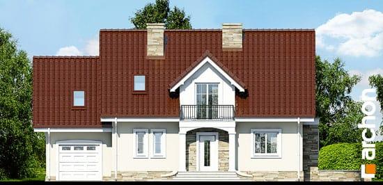 Elewacja frontowa projekt dom w werbenach 5 ver 2  264